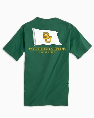 Southern Tide Gameday Nautical Flags T-shirt - Baylor University