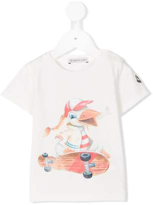 Moncler cartoon print T-shirt