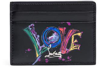 Christian Louboutin Kios black card holder