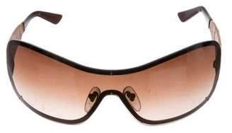 Salvatore Ferragamo Shield Gradient Sunglasses