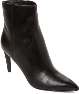 KENDALL + KYLIE Black Zoe Leather Ankle Boots