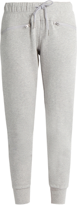 ADIDAS BY STELLA MCCARTNEY Essentials cotton performance track pants $67 thestylecure.com