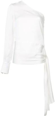 Stella McCartney one shoulder blouse