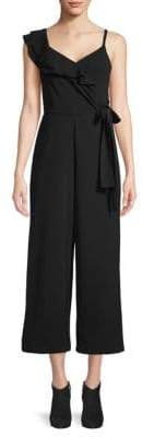 Rachel Roy Reed Wrap Wide-Leg Jumpsuit