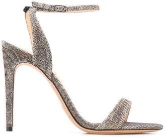 Alexandre Birman metallic stiletto sandals