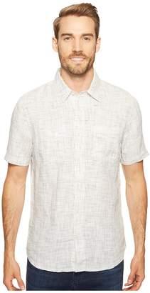 Agave Denim Short Sleeve Woven Flotsam Jetsam Men's Short Sleeve Pullover