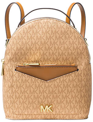 Michael Kors MICHAEL Jessa Small Logo Backpack, Multi