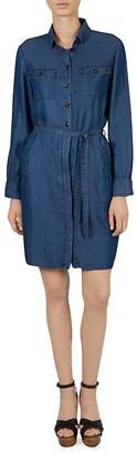 Gerard Darel Diletta Shirt Dress $310 thestylecure.com