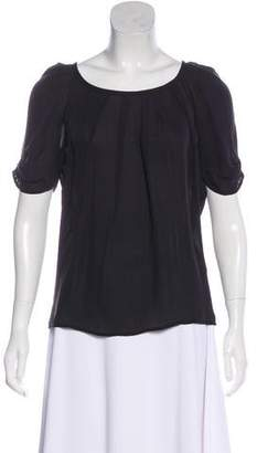 Joie Silk Short Sleeve Top