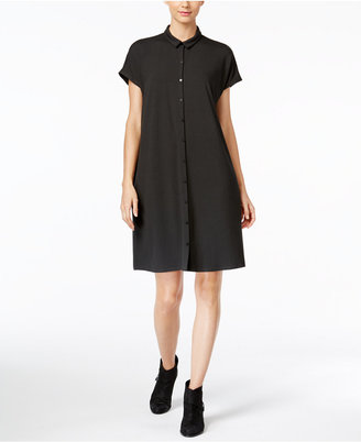 Eileen Fisher Collared Shirtdress, A Macy's Exclusive $178 thestylecure.com