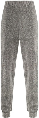 NO KA 'OI No Ka' Oi side-stripe glittered joggers
