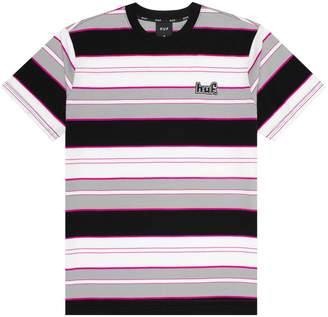 HUF Upland Striped Cotton Tee
