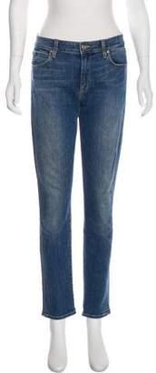 Vince Mid-Rise Straight-Leg Jeans