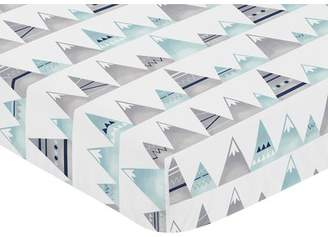 JoJo Designs Sweet Mountains Fitted Crib Sheet