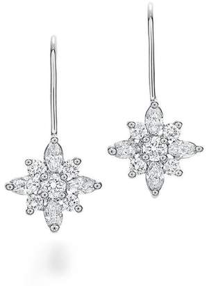 Kwiat .90ct tw Diamond Star Earrings