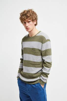 French Connection Textured Cotton Stripe Jumper