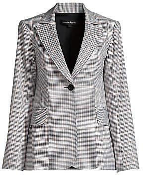 Nanette Lepore Women's Groovy Glen Plaid Single-Breasted Jacket