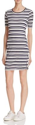 Splendid Stripe Knit Dress $148 thestylecure.com