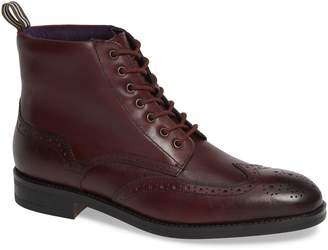 Ted Baker Brogue Ankle Boot