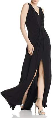 Laundry by Shelli Segal Draped Jersey Gown