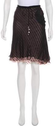 Stella McCartney Silk Layered Skirt