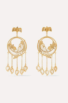 Mallarino Catalina Gold Vermeil Earrings