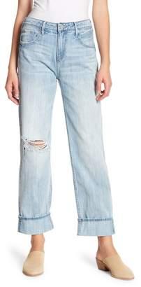 True Religion Relaxed Straight Leg Jeans