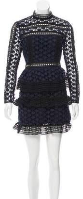 Self-Portrait Star Guipure Lace Dress w/ Tags