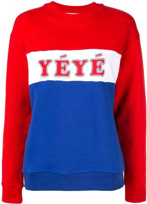 Être Cécile YEYE boyfriend sweatshirt