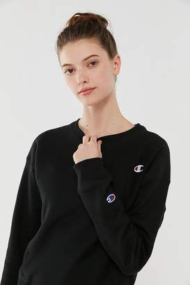 Champion Reverse Weave Logo Patch Sweatshirt
