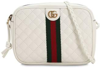 Gucci MINI QUILTED LEATHER SHOULDER BAG