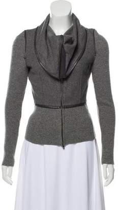 Stella McCartney Wool Zip-Up Jacket