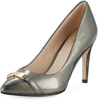 Cole Haan Diedra Signature Grand Pump, Gunmetal Pearlized Patent
