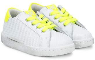 Star Kids 2 neon detail sneakers