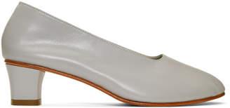 Martiniano Grey High Glove Heels