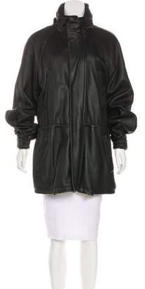 Loro Piana Oversize Leather Coat