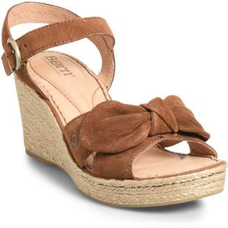 Børn Monticello Knotted Wedge Sandal
