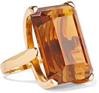 Fred Leighton - 1940s 18-karat Gold Citrine Ring