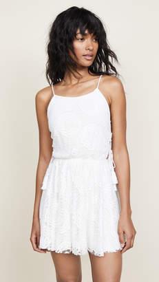 Peixoto Lace Dress with Tassels
