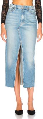 Mother Altered Sacred Maxi Fray Skirt