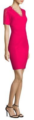 Elie Tahari Ainsley Short Sleeved Sheath Dress $248 thestylecure.com