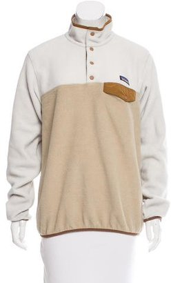 Patagonia Fleece Long-Sleeve Sweater $65 thestylecure.com