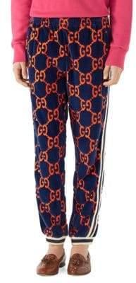 Gucci GG Chenille Logo Jogger Pants