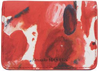 Alexander McQueen Multicolor Business Card Holder