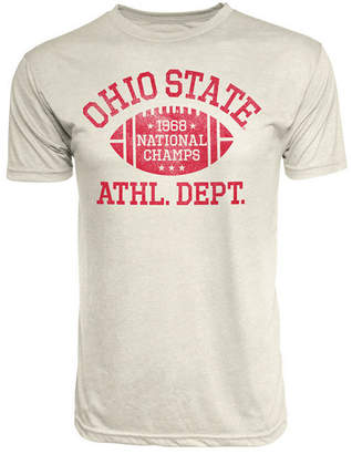 J America Men Ohio State Buckeyes Tri-Blend '68 National Champ Football T-Shirt