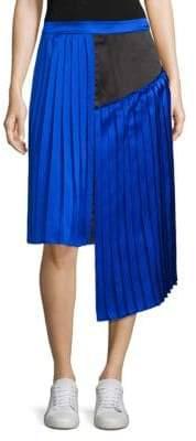 Public School Kaleb Suchi Silk Pleated Skirt