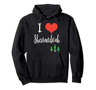 I Love Shenandoah National Park Hoodie Hooded Sweatshirt