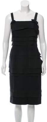 Louis Vuitton Sleeveless Layered Dress