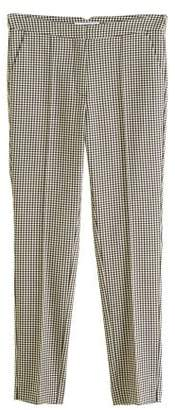 MANGO Check suit trousers