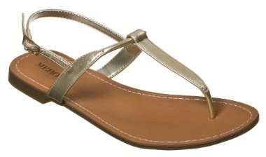 Women's Merona® Evelin Thong Sandals - Gold